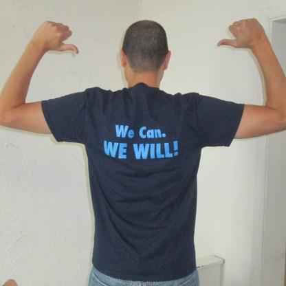 printed back of shirt